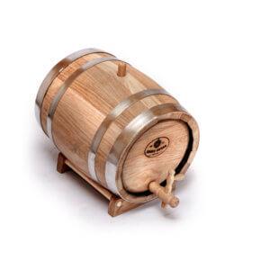 дубовая бочка для алкоголя 10л