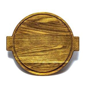 Доска для пиццы деревянная 260 мм