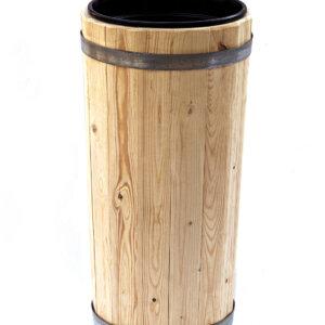 Вазон деревянный с пластиковым вкладышем 7,5 литров высота 60 см