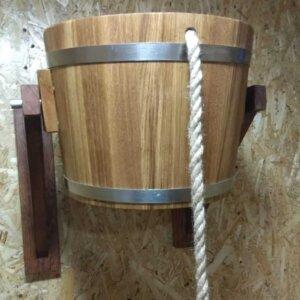 Обливное устройство для бани и сауны из дуба 17 л