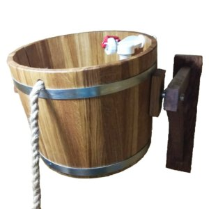 Обливные ведра для бани