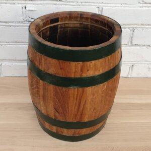 Вазон деревянный бочка 10л дуб